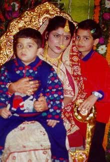 With Maneesha Bhabhi